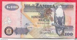 Zambie 100 Kwacha 2009 (sign 12) Dans L ' état N °63 - Zambia