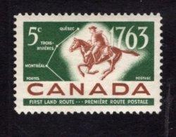 839282692 1963 SCOTT 413 POSTFRIS MINT NEVER HINGED EINWANDFREI (XX) POSTRIDDER AND FIRST LAND MAIL ROUTES - 1952-.... Elizabeth II
