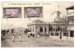 DAKAR - Avenue Roume - Ed. Coll. Fortier, Dakar - Sénégal