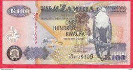 Zambie 100 Kwacha 2010 (sign 12) Bon  état N °65 - Zambia