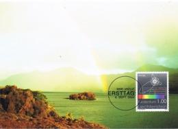 33940. Tarjeta Maxima VADUZ (Liechtenstein)  2004. FISICA, Physik. Rogenbogen, Arco Iris - Cartas Máxima
