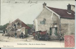Combs La Ville-Rue De La Grande Ferme. - Combs La Ville