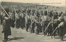 MISSIONS AFRIQUE  Petits Garçons Revenant Du Travail - Missions