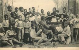 MISSIONS AFRIQUE  Classe De Chant - Missions