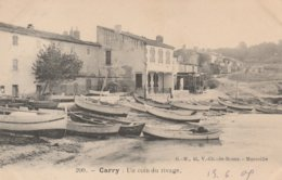 Carry Le Rouet - Un Coin Du Rivage - Carte Précurseur - Carry-le-Rouet