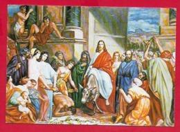 CARTOLINA NV ITALIA - Ingresso A Gerusalemme - LOUIS EDOUARD DUBUFE - 10 X 15 - Pittura & Quadri