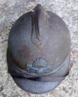 Casque Adrian Modèle 1915 Artillerie - Hoeden