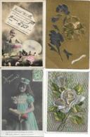 CARTES FANTAISIES - LOT DE 168 CARTES - Toutes Les Cartes Sont Scannées - Cartes Postales
