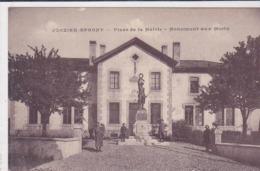 Cpa-74-jonzier Epagny-pas Sur Delc.-personnages-monument Aux Morts 14 / 18 -edi ...... - Autres Communes