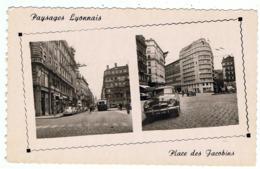 Aronde / Lyon / Place Des Jacobins / Ed. Cellard - Passenger Cars
