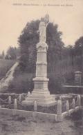 Cpa-74-groisy-monument Aux Morts 14 / 18 -edi Ferron - Autres Communes