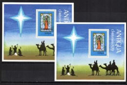 2 Hb Antigua Y Barbuda Diferentes. - Antigua Y Barbuda (1981-...)