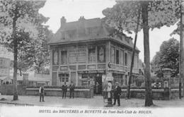 ROUEN - Hôtel Des Bruyères Et Buvette Du Football Club De ROUEN - Café Tabac PERON - Rouen
