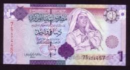 Libia - 1 Dinar - 2009 - P71 -.  UNC - Libya