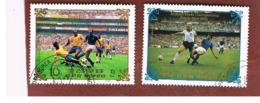 COREA DEL NORD (NORTH KOREA) -  SG N2494.2500  - 1984  WORLD CUP FOOTBALL FINALS - USED ° - Corée Du Nord