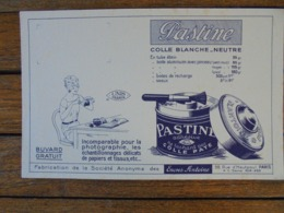 BUVARD - ENCRES ANTOINE - PASTINE COLLE BLANCHE - Vloeipapier