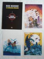 WILLIAM VANCE – 3 EX-LIBRIS BOB MORANE – ALTAYA – 2012 - Ex-libris
