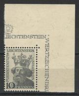 SBK 206, Mi 247  ** MNH - Liechtenstein