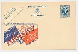 Publibel - Postal Stationery Belgium 1933 Rubistar - The Toothpastes Of The Stars - Gezondheid