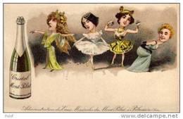 Cristal Mont-pilat - Artistes Theatre -  Sarah Berhnardt, Cléo De Mérode , Otéro   (A440) - Publicidad