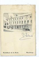 Havelange Hostellerie De La Poste ( Menu 1961 - Document En 4 Volets Au Format CPM ) ETAT Voir Les Scans !!! - Havelange