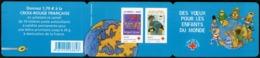 """BC 2056 NEUF TB / Autocollants / Croix Rouge """"des Voeux Pour Les Enfants Du Monde"""" / Valeur Timbres : 10.5€ - Booklets"""