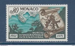 Monaco - YT N° 861 - Neuf Sans Charnière - 1971 - Unused Stamps