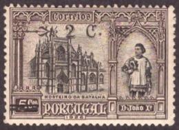 Portugal 1926 - Independência De Portugal Com Sobretaxa 2/5c # MNH #  Côte Nr. 387 € 2.75 Mundifil Cat. - 1910-... République