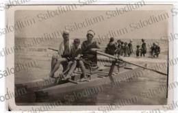 Mare Barca Boat Original Photo - Foto Fotografia - Donna Woman Moda Fashion Beach Sea Boat - Foto