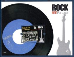 Portugal 3530/35 Et Bf 309 Rockn'roll , Pont , Loup , Guitare - Muziek