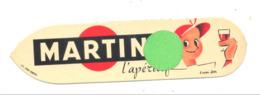"""Marque-pages Publicitaire  - L'apéritif """" MARTINI """"  (b260/2) - Marque-Pages"""