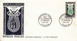 FRANCE - 1960 - FDC - Ordre De La Libération - 1940-1960 - FDC