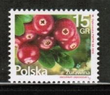 PL 2016 MI 4871 Flowers And Fruit - Cranberry - 1944-.... Republik