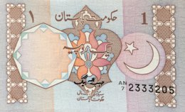 Pakistan 1 Rupee, P-27b (1983) - UNC - Sign.3 - Pakistan