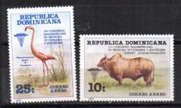 Serie NºA-307/8 Republica Dominicana - Sellos