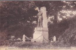 Cpa-76-epouville-pas Sur Delc.-monument Aux Morts 14 / 18 -edi Mellet N°444 - France