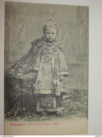 C.P.A - Asie - Singapour - Full Dressed Chinese Child - 1910 - SUP (O97) - Singapore