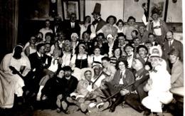 Faschingsrunde Veranstaltung Ca 1950 Karneval Fasching Kostüme Verkleidung Unbekannt - Karneval - Fasching