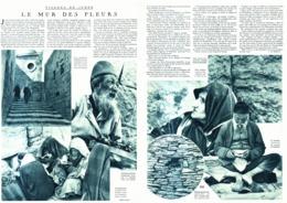 """ VISAGE De JUDEE ""  LE MUR DES PLEURS  1933 - Israel"