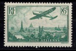 France Poste Aérienne - Avion Survolant Paris - YT N°8 - Neuf Avec Charnière - Poste Aérienne