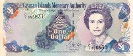 Cayman Islands 1 Dollar, P-21a (1998) - UNC - Isole Caiman