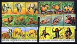 Serie Nº 604/21 Guinee - Sellos