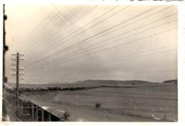 Foto - Hochspannungsleitung Stromleitung Auf Wiese Ca 1940 Unbekannt - Fotografie