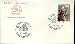 47335 Italia, Fdc 2000 Music Composer Niccolo Piccinni, - Muziek