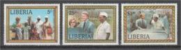 Liberia - 1978 - ( Pres. Carter's Visit To Liberia ) - Complete Set - MNH** - Liberia