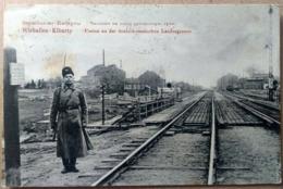 VIRBALIS, WIRBALLEN, WIERZBOŁÓW, 1912, Border - Bridge - Rail, Grenze - Brücke - Schiene, Frontière - Pont - Rail - Lithuania