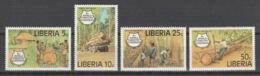 Liberia - 1978 - ( 8th World Forestry Congress, Djakarta, Indonesia ) - Complete Set - MNH** - Liberia