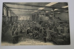 Préparation De La Futaille Pour La Vendange - Epernay