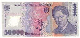 Romania 50000 Lei 2001 UNC .PL. - Romania