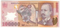 Romania 100000 Lei 2001 UNC .PL. - Romania